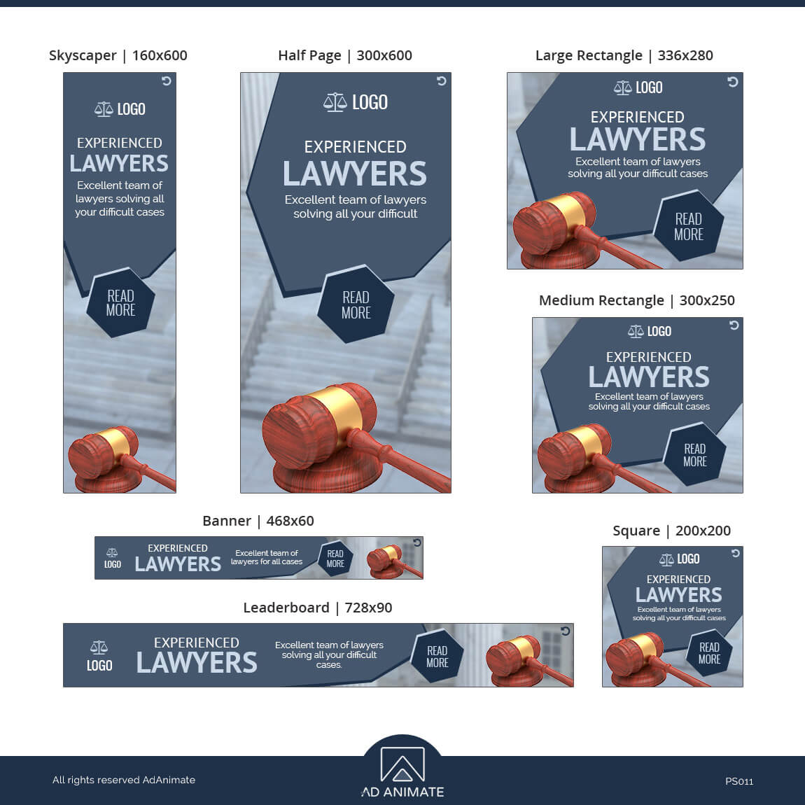Lawyer banner ad