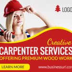 Carpenter Service Ad banner