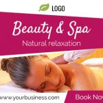 Beauty & Spa ad banner