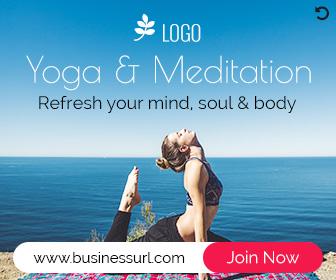 Yoga Meditation Banner PS004