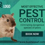 Pest Control Ad banner template