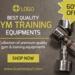 Training Equipment design ad