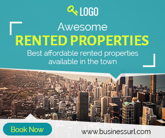 Rented Property Banner Ad Real Estate Ad Professional Ad Template