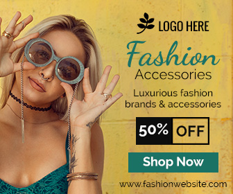 Fashion Accessories Sale Banner Ad