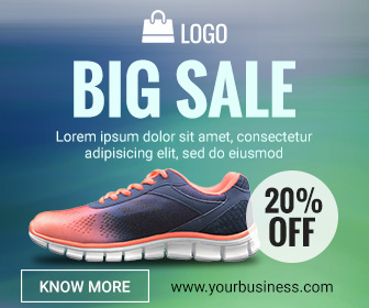 Big Sale Banner Ad Template