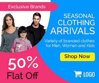 Shopping Banner Ad design