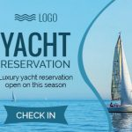 Yacht Booking HTML5 ad banner