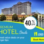 Hotel Booking banner Ad Design
