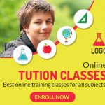 Tution Class online banner ad