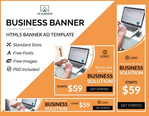 business ad banners