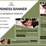business banner ad template