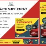 health supplement banner ads