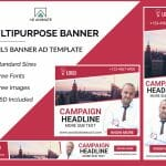 Multipurpose banner template