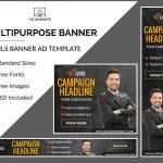 Multipurpose HTML5 Ad banner