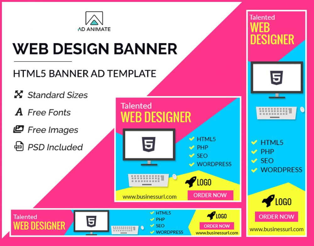 Web Design Banner template