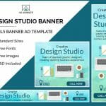 Design Studio Banner Template