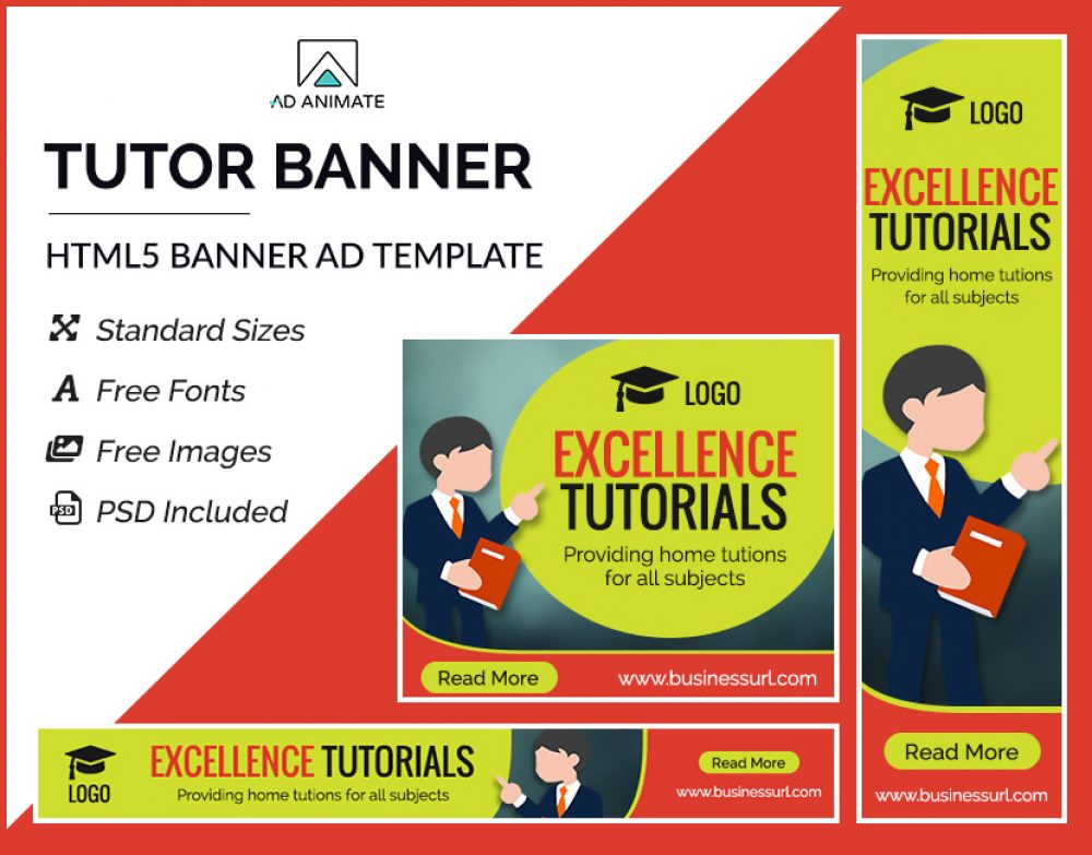 Tutor Banner Ad Template