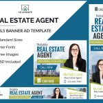 Real Estate Agent Banner Template