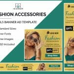 Fashion Accessories Banner Design