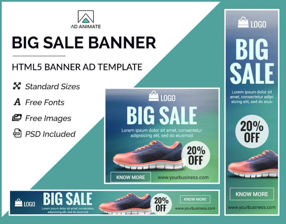 Sale Banner Ad Template