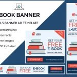 E-book Banner Ad Template