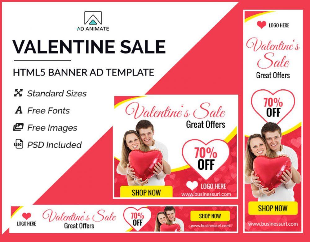 Valentine Sale Banner