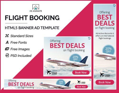 Flight Booking Banner