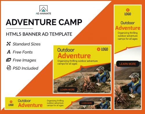 Adventure Camp Banner