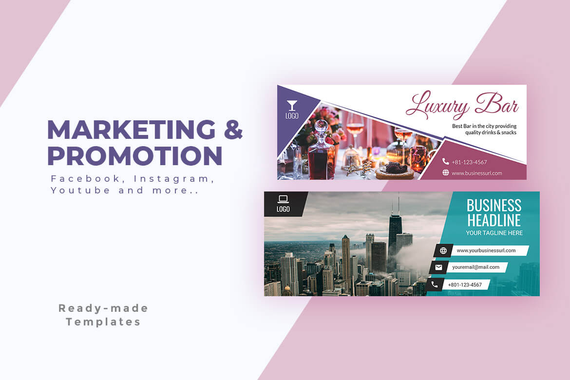 Marketing & Promotion Templates