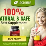 health supplement banner ad