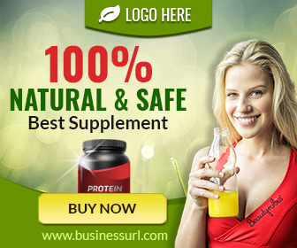 Health Supplement Banner (HF006)