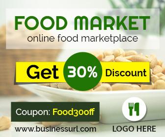 Food Market Banner (FR003)